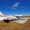 Cessna 172 at Ft. Lauderdale Executive (KFXE)<br /> Fisheye shot