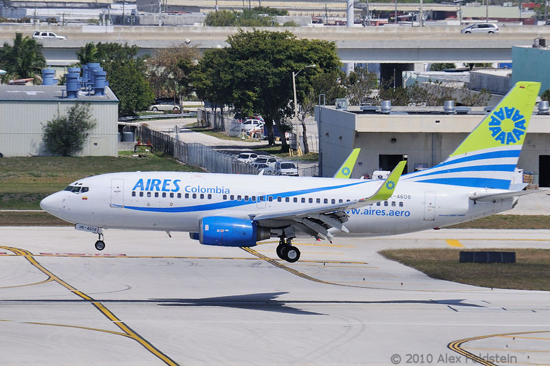 AIRES Colombia (Boeing 737 Next Gen)