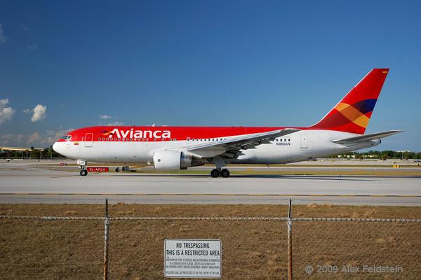 Avianca Boeing 767-259/ER