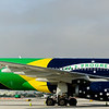 Azul Airbus A330 (4-shot pano )<br /> <br /> The aircraft is Azul Airlines flagship.<br /> <br /> Many thanks to the Broward County Aviation Department (BCAD), Azul Airlines, and the FLAV volunteers for making this visit possible.