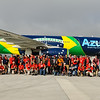 The Florida Aviation Photography group during the annual visit to Ft. Lauderdale.<br /> <br /> The aircraft is Azul Airlines flagship, an Airbus A330 doing the daily run São Paulo - Ft. Lauderdale<br /> <br /> Many thanks to the Broward County Aviation Department (BCAD), Azul Airlines, and the FLAV volunteers for making this visit possible.