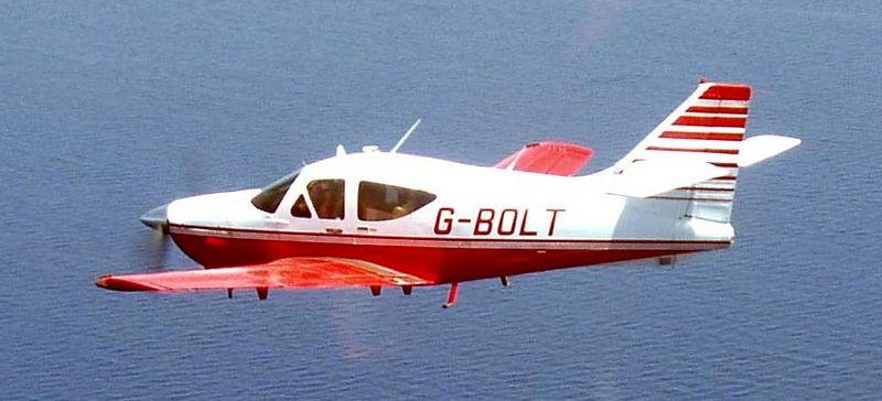 G-BOLT over the Mediterranean en route UK to Israel!