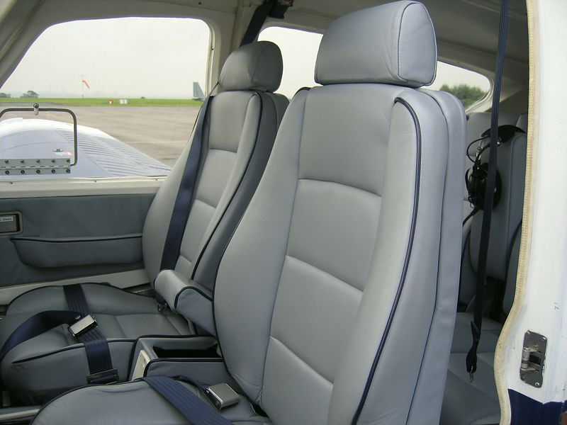 Full Scottish Leather interior refurbishment was undertaken and included Airline grade leather and carpets and  a full set of smoke grey windscreens.