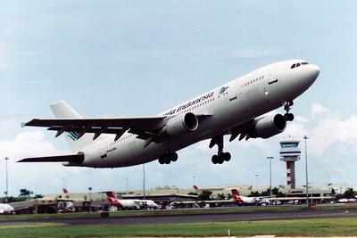 PK-GAK GARUDA A300-600