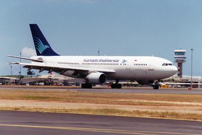 PK-GAP GARUDA A300-600