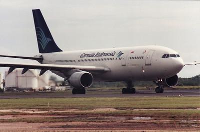 PK-GAN GARUDA INDONESIA A300