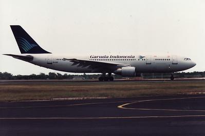 PK-GAP GARUDA INDONESIA A300-600
