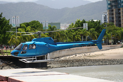 VH-SWH GREAT BARRIER REEF HELICOPTERS AEROSPATIALE-350BA
