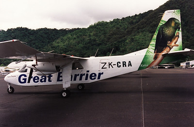 ZK-CRA GREAT BARRIER BN-ISLANDER