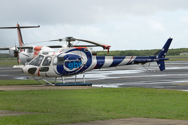 VH-SFX GBR HELICOPTERS AS-350