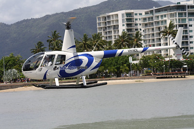 VH-NOL GREAT BARRIER REEF HELICOPTERS ROBINSON R44