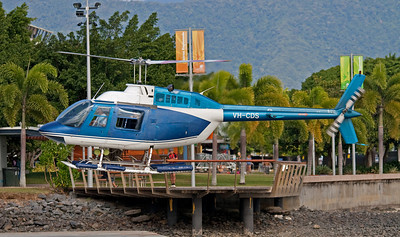 VH-CDS GREAT BARRIER HELICOPTERS BELL-206B