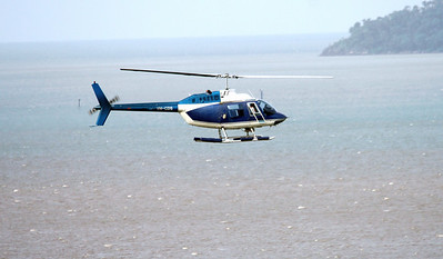 VH-CDS GREAT BARRIER REEF HELICOPTERS BELL-206