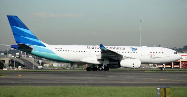 Garuda Indonesia Airbus A330-243 PK-GPK
