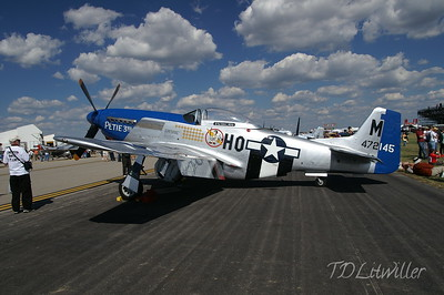 P-51 D Mustang  Gathering of Mustangs and Legends