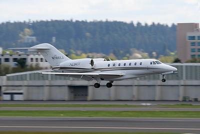 Cessna 750 Citation X N769XJ S/N 750-0269