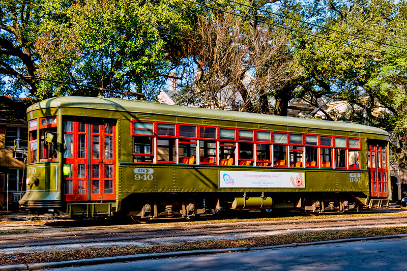 The St. Charles Street Car Line