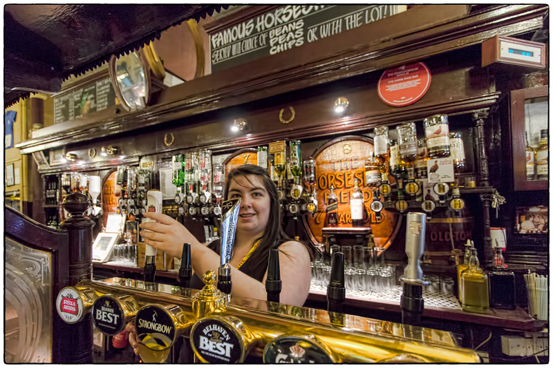 At 104-feet and 3-inches, the grand Victorian bar is the longest in Europe...
