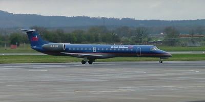 British Midland ERJ145 G-RJXE