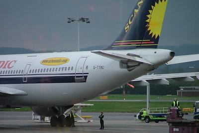 Air Scandic A300 G-TTMC