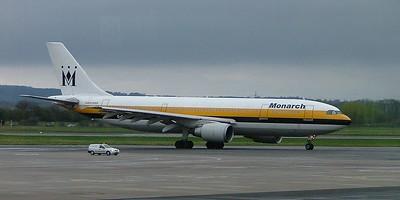 Monarch A300 G-OMJR