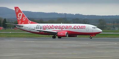 flyGlobespan B737 G-OTDA