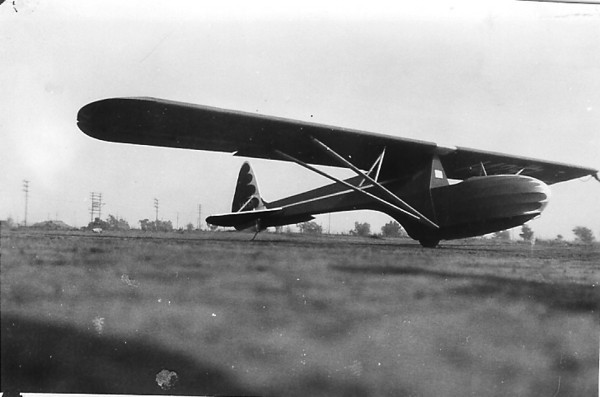 Briegleb No. 6 Utility Glider built by Bill Prescott, Ed Iverson and Joe Trefney in 1941.