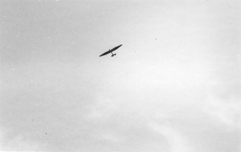 "1940 - Franklin-Stevens sailplane ""Up There""."