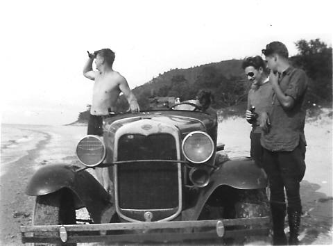 1940 - Johnny Nowak and Al Meeker.