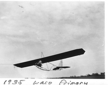 Vintage Sailplane Photos from the 1930s and 1940s, Including the 1939 American Open Soaring Competition - Frankfort, MI