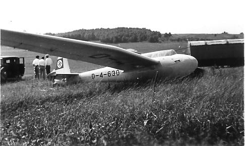 Kranich Two-Place sailplane.