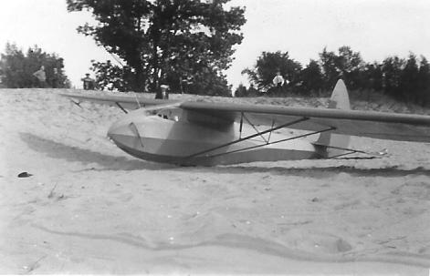 ABC sailplane designed by the Detroit Glider Club.