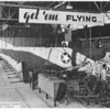 Stan Corcoran's Franklin Sailplane Company - Joliet, IL.  TG-1A Gliders on the assembly line.