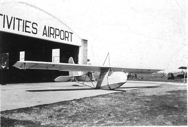 1935 - Waco Secondary Glider at Air Activities Airport, Chicago, IL