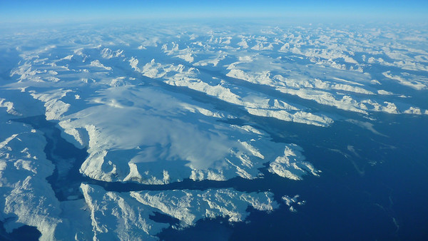 Greenland- January 2011and December 2014 (Both at Southern tip@60N)) 37,000'