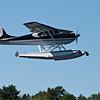 Cessna 170 on it's bombing run.