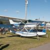 Cessna Skylane on Aerocet floats.