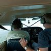 Arriving in Greenville for the fly-in.