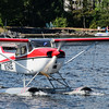 Cessna 172 on Edo floats.