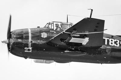 Grumman TBM-3E Avenger - Northern Illinois Air Show - Waukegan, Illinois - Photo Taken: September 10, 2016