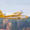 Grumman Widgeon N244GW departing Laconia NH KCL.