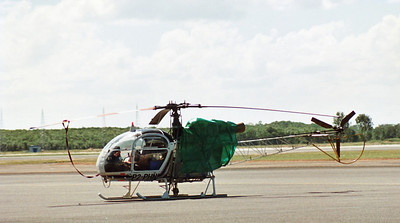 P2-PHN SUD-AVIATION 315B LAMA