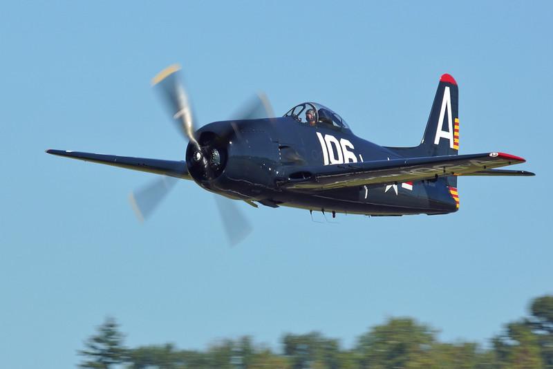 "Grumman F8F Bearcat N7827C ""Wampus Cat"""