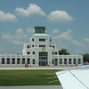 Air Terminal Museum (with MBJ waving!) as seen taking off from Rwy 35