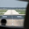Landing on Rwy 35