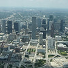 downtown Houston looking South