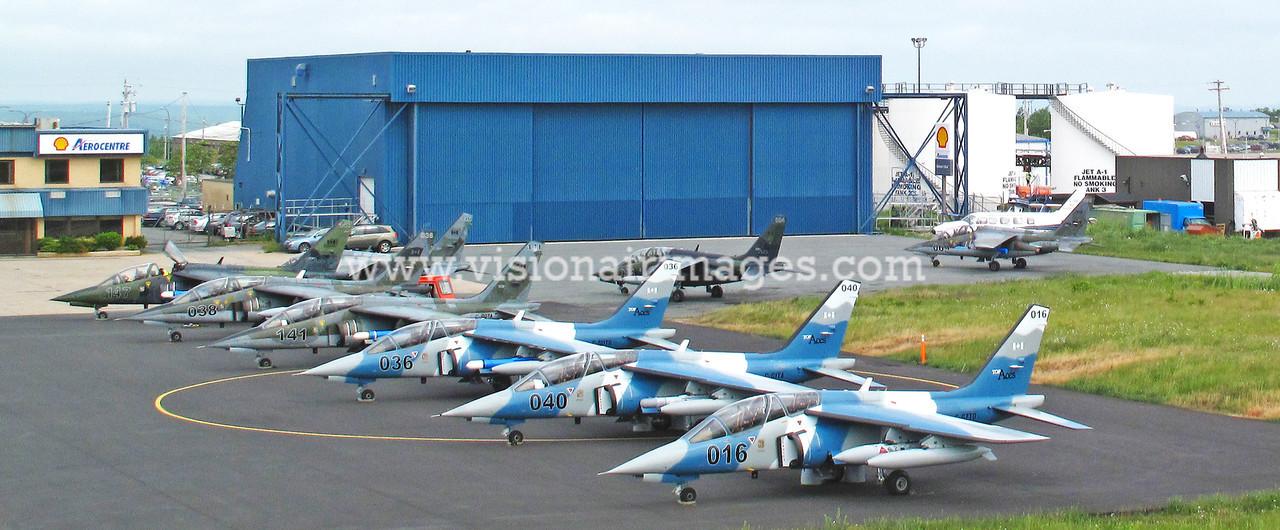 Top Aces Alpha Jets, Robert L. Stanfield International Airport, Enfield, Nova Scotia, Canada