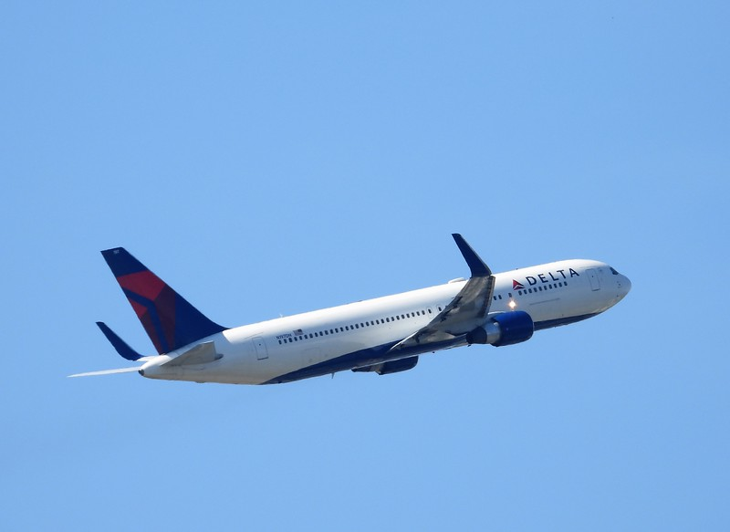 Wow! Delta still flies the Boeing 767. A great aircraft I've been when I flew to Seattle a few times.