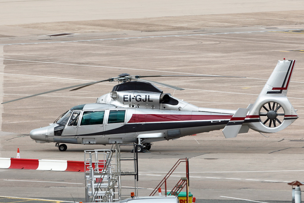 EI-GJL Aerospatiale SA365N Dauphin III (Birmingham) Private