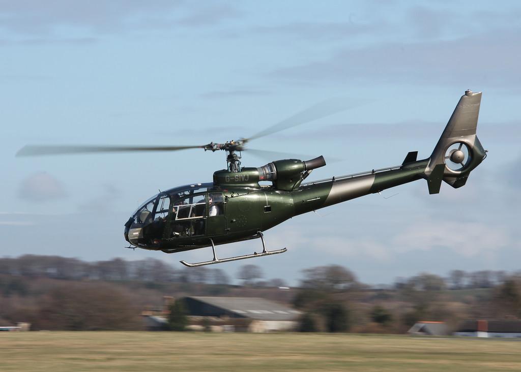 G-SIVJ Westland Gazelle HT MK2 (Halfpenny Green) Skytrace UK Ltd